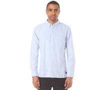 Oxford 3 L/S - Hemd - Blau