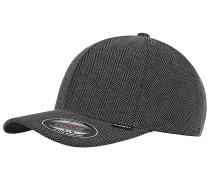 Heringbone Melange Cap - Grau