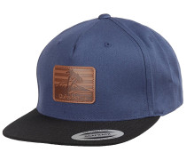 Mountain Rash - Snapback Cap - Blau