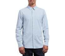 Oxford Stretch L/S - Hemd - Blau