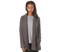 Woodland Solid - Strickjacke - Grau