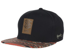 6P SB Aztek Snapback Cap - Schwarz