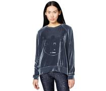 Boxy-Shape - Sweatshirt - Grau