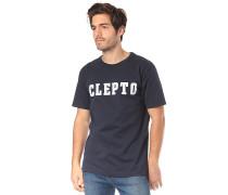 College - T-Shirt - Blau