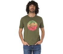 Circle Surfer - T-Shirt - Grün