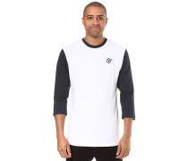 Flying V Set In - Langarmshirt - Weiß