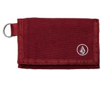 Full Stone Cloth - Geldbeutel - Rot