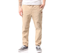 Hook Out Beach - Stoffhose - Beige
