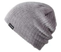 Vert Rib Mütze - Grau