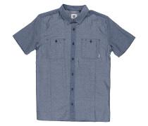 Murphy S/S - Hemd - Blau
