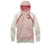 Crown Bndd Fz - Fleecejacke - Pink