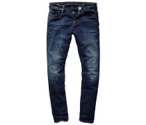 3301 Straight Tapered - Jeans - Blau
