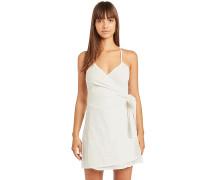 Island Wrap - Kleid - Weiß