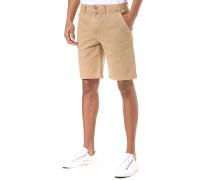 Twill - Chino Shorts - Beige