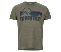 Coastal - T-Shirt - Grün