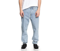 Worker Straight - Jeans - Blau