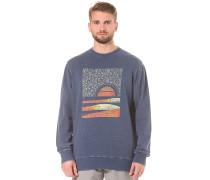 Sunset-Abel Crew - Sweatshirt - Blau