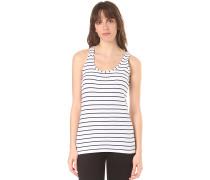Striped - Top - Blau
