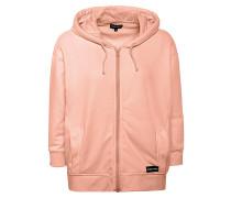 Kapuzensweatshirtjacke - Kapuzenjacke - Pink