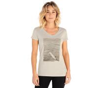 Minimalist Wave V Neck - T-Shirt