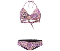 Print Wrap - Bikini Set - Pink