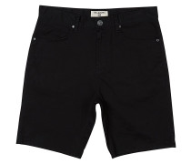 Outsider 5 Pockets - Shorts - Schwarz