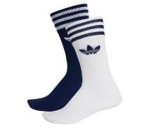 Solid Crew 2 Pack Socken - Blau