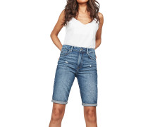3301 High Straight - Shorts - Blau