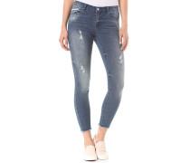Vicommit RW 5P 7/8 - Jeans - Blau