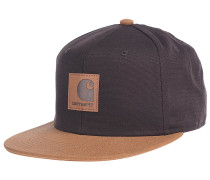 Logo Bi-Colored Snapback Cap - Braun