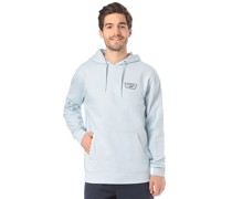 Full Patched - Kapuzenpullover - Blau