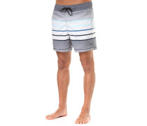 All Day Geo LB 16 - Boardshorts - Grau
