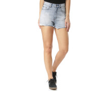 Yesterdays High Denim - Shorts - Blau