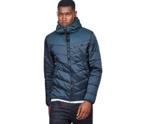 Attacc Hooded Overshirt - Jacke - Blau