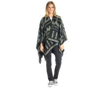 Sussex Blanket Wrap - Strickjacke - Schwarz