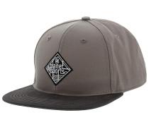 Natural Snapback Cap - Grau