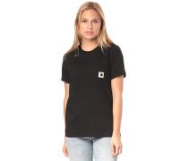 Carrie Pocket - T-Shirt - Schwarz