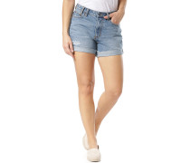 Bae Boyfriend Denim - Shorts - Blau