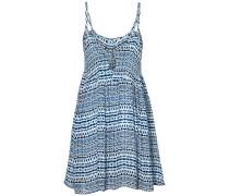 Pacific Grove Print - Kleid - Weiß