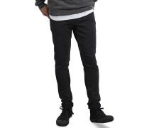 2x4 Tapered - Jeans - Schwarz