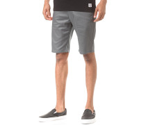 Basic - Chino Shorts - Grau