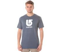 Logo Vertical Slim - T-Shirt - Blau