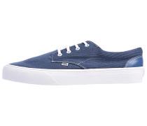 Nice Stripe Jersey Sneaker - Blau
