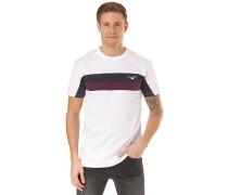 Faster - T-Shirt - Weiß