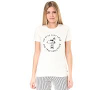 True - T-Shirt - Weiß