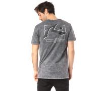 Wash TV Screen 7 - T-Shirt - Grau