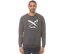 Chamisso 2 Logo Crew - Sweatshirt - Schwarz