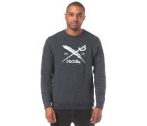 Chamisso 2 Logo Crew - Sweatshirt - Blau