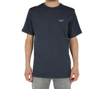 Small Script - T-Shirt - Blau