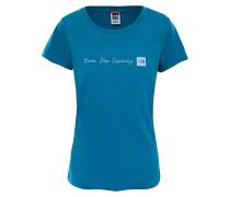 Never Stop Exploring - T-Shirt - Blau